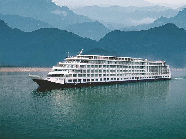世纪辉煌号游船,宜昌到重庆三峡豪华游船旅游