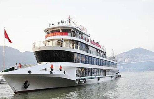 高峡平湖三号,宜昌船进神农架豪华游轮(太平溪-峡口航线)
