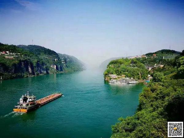 西陵峡风景区,宜昌两坝一峡旅游山水画廊