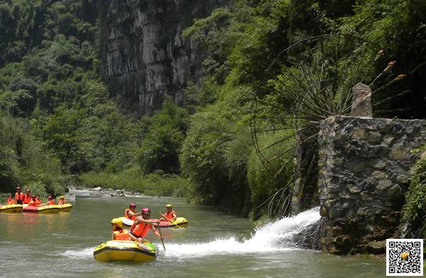宜昌青龙峡漂流6月19日正式开漂拉,宜昌漂流旅游