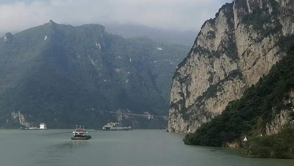 宜昌到奉节三峡三日游船去车回,游览长江三峡小三峡白帝城