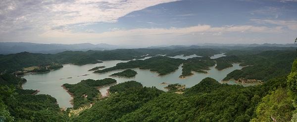 当阳青龙湖国家湿地公园,宜昌森林湿地旅游新景观