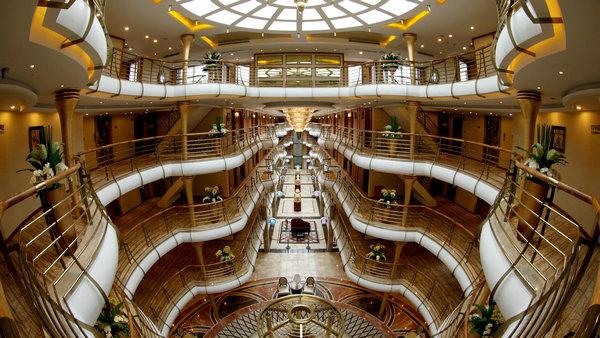 长江黄金二号游轮  三峡豪华游船 宜昌到重庆航线乘黄金游轮游三峡