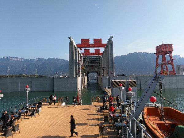 三峡升船机门票船票预订,宜昌三斗坪17点出发乘升船机过三峡大坝(升船机上行线