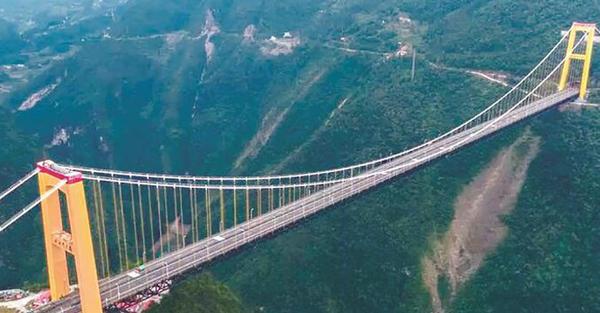 泗渡河大桥观光通道,恩施巴东旅游新景点