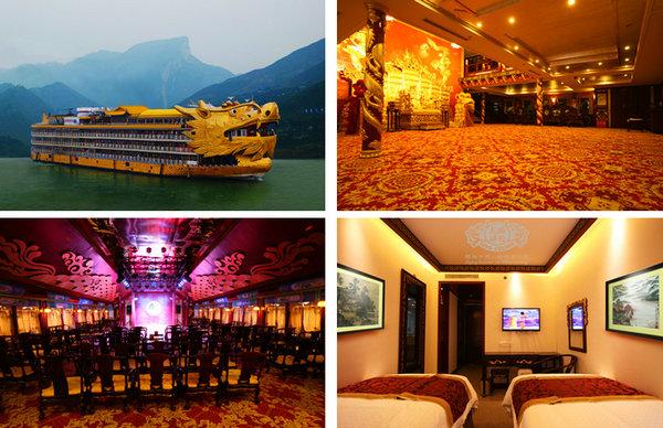 皇家盛世游轮 宜昌到重庆三峡旅游豪华游船盛世号