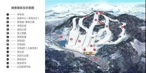 绿葱坡滑雪场位置图