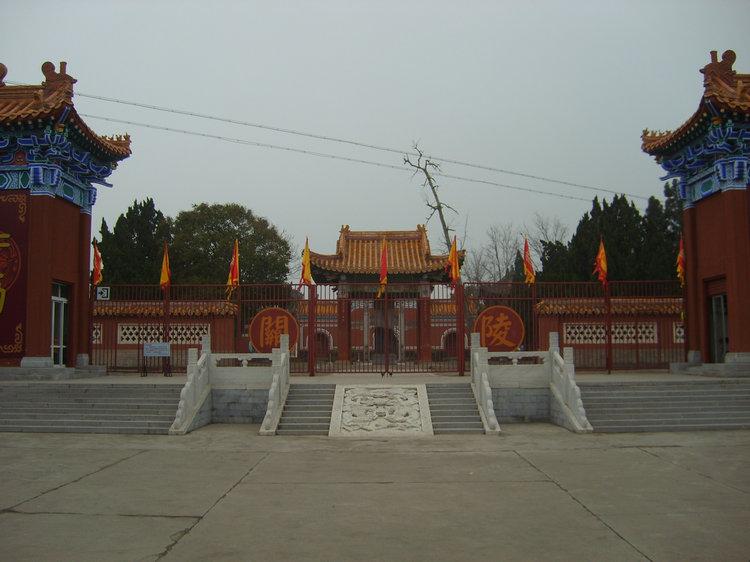 当阳关陵,全国三大关陵之一 宜昌当阳旅游景点关陵