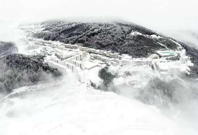 宜昌滑雪专线开通,可到神农架五峰百里荒绿葱坡滑雪场旅游