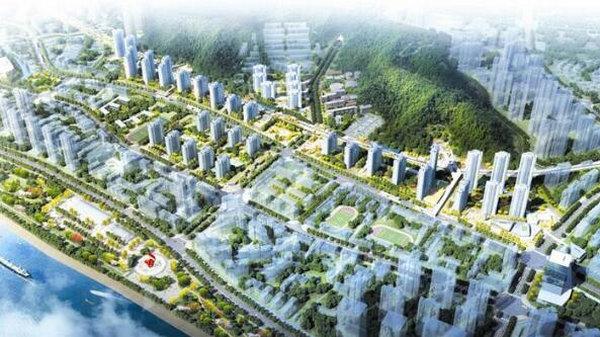 宜昌建设铁路高线公园,位于汉宜村山水宜居片区