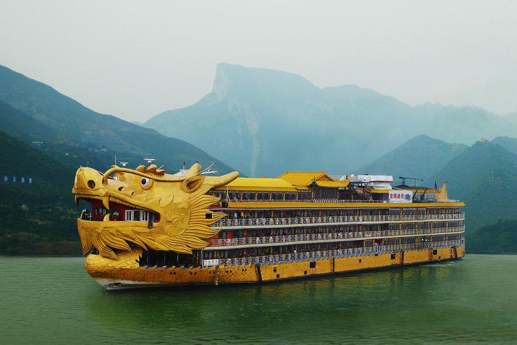 三峡龙船乾隆号游轮官网图片介绍,乘皇家盛世乾隆号游长江三峡