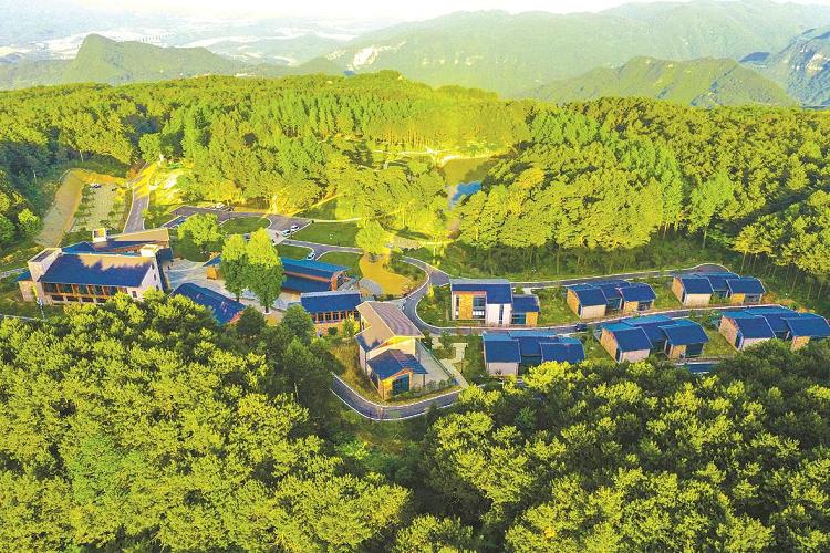 宜昌远安太平顶风景区,远安最高峰,宜昌森林休闲旅游景点