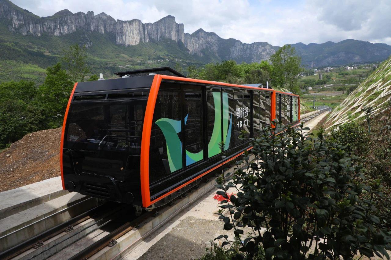 恩施大峡谷旅游攻略运行速度最快的的地面观光缆车投入运行