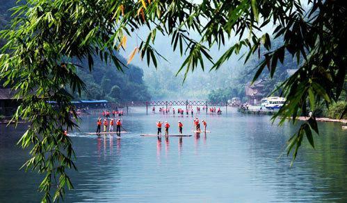 """三峡竹海风景区""""八大""""特色景观"""