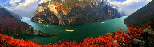 宜昌看红叶有哪些地方,柴埠溪西塞国长江三峡神农架成为宜昌周边红叶观赏集中区域