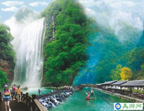 宜昌晓峰风景区图片 三峡大瀑布 情人泉 金狮洞 悬棺