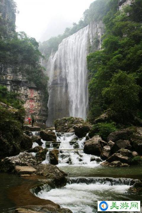 三峡大瀑布风景区 三峡最美瀑布,中国十大瀑布之一